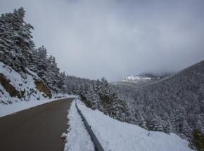 Madryt: czerwony poziom zagrożenia z powodu opadów śniegu