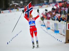 Biegi narciarskie - pewne zwycięstwo Norweżek w sztafecie