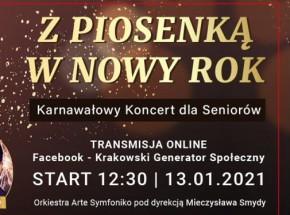 """""""Z Piosenką w Nowy Rok"""" - karnawałowy koncert online"""