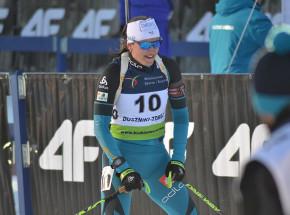 Biathlon - PŚ: Simon znów najlepsza w biegu masowym