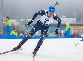 Biathlon: Lukas Hofer wygrywa sprint w Ostersund