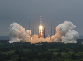 Chińska rakieta spadła w pobliżu Malediwów