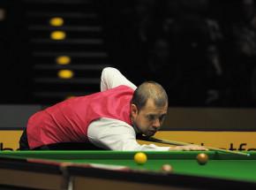 Snooker - Players Championship: Hawkins pierwszym półfinalistą