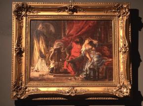Odnaleziony obraz Matejki na wystawie w DESA Unicum