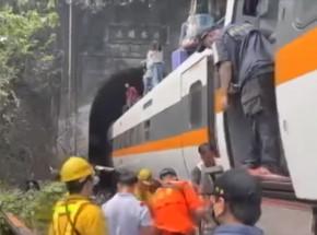 Tajwan: kilkadziesiąt osób zginęło w katastrofie kolejowej