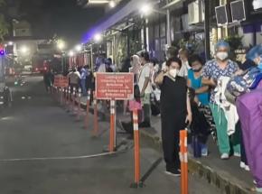 Filipiny: pożar szpitala w stolicy