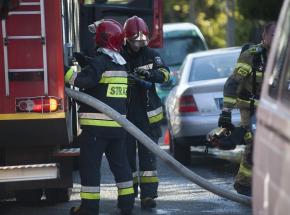 Małopolska: strażak zginął w tragicznym wypadku