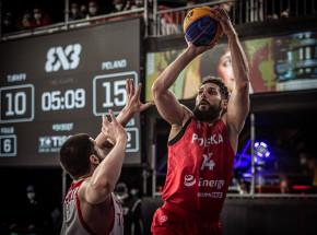 Koszykówka 3x3 - turniej kwalifikacyjny IO: Polacy o krok od igrzysk!