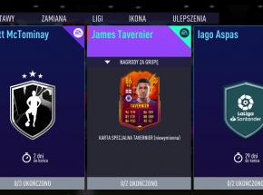 "FIFA 21: karta ""Headliners"" Jamesa Taverniera"