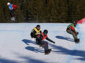 Snowboard - PŚ: Samkowa i Grondin najlepsi w Bakuriani