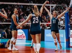 Siatkówka - Liga Narodów: Amerykanki wciąż bez porażki, pierwszy tryumf Tajlandii