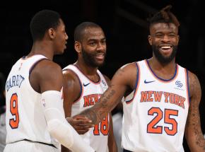 NBA: rekord Moranta nie wystarczył na Jazz, Knicks wyrównali serię