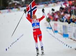 Biegi narciarskie - MŚ: pewny triumf Johaug, słaba postawa biało-czerwonych