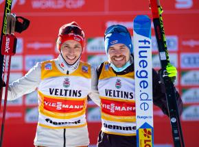 Kombinacja norweska - PŚ: sprint drużynowy dla Niemiec