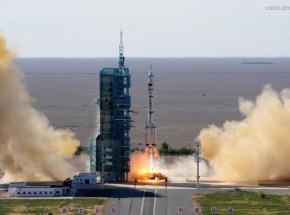 Pierwsza załoga dotarła do chińskiej stacji kosmicznej