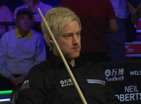 "Snooker - Welsh Open: Neil ""700"" Robertson"