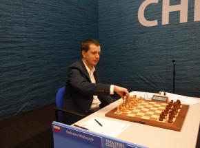 Szachy: remis Wojtaszka z Carlsenem w Tata Steel Chess