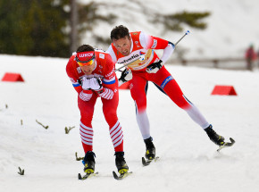 Biegi narciarskie - PŚ: Norwegowie ograli Bolszunowa