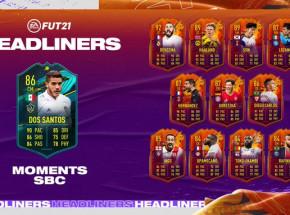 FIFA 21: karta Player Moments Jonathana Dos Santosa dostępna w SBC