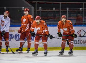 Hokej - Puchar Trójmorza: rozgrzewka przed kwalifikacjami olimpijskimi