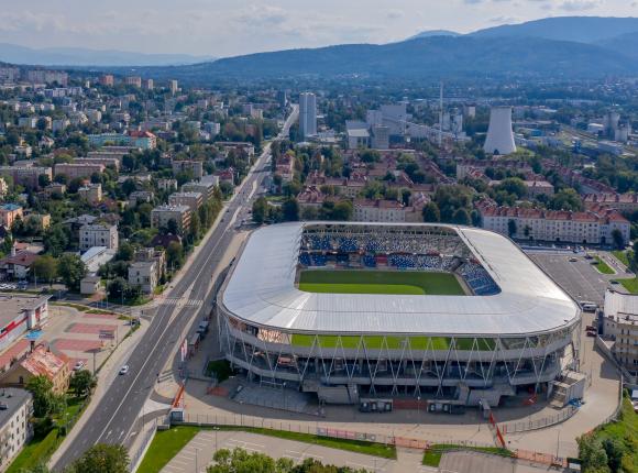 PKO Ekstraklasa: remis Podbeskidzia z Jagiellonią