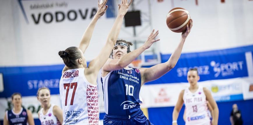 Koszykówka - EuroCup: zwycięstwo gorzowianek na koniec