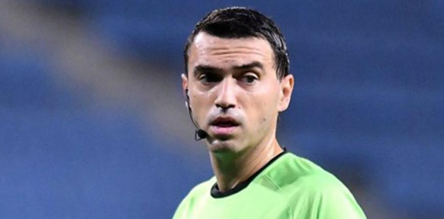 EURO 2020: Ovidiu Hategan sędzią meczu Polska - Słowacja