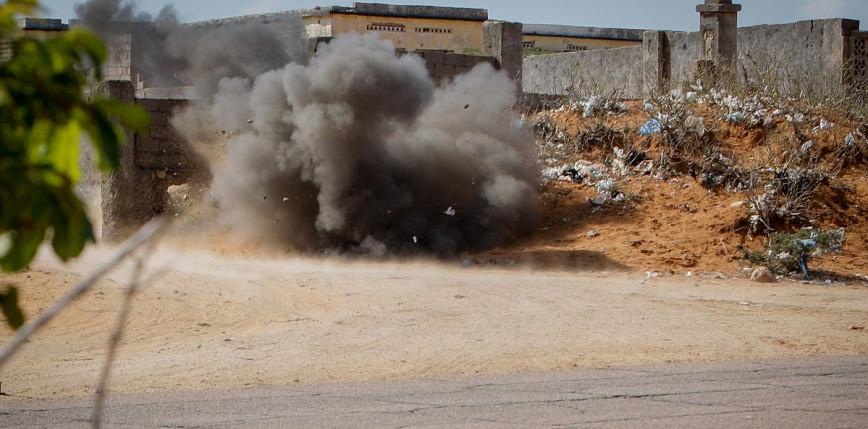 Somalia: zamach w pobliżu głównej kwatery wojskowej w Mogadiszu