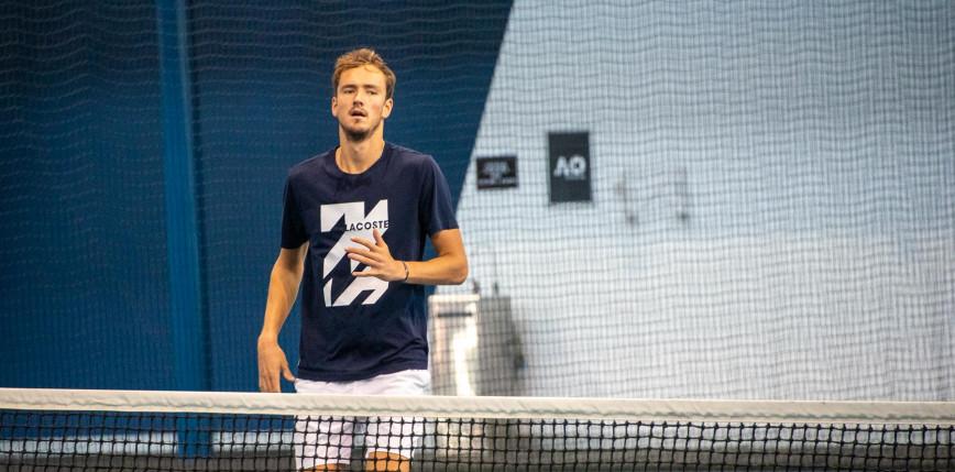 Australian Open: Miedwiediew drugim finalistą