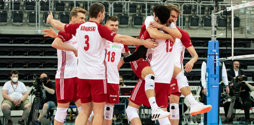 Siatkówka - VNL mężczyzn: Iran vs Polska [LIVE]