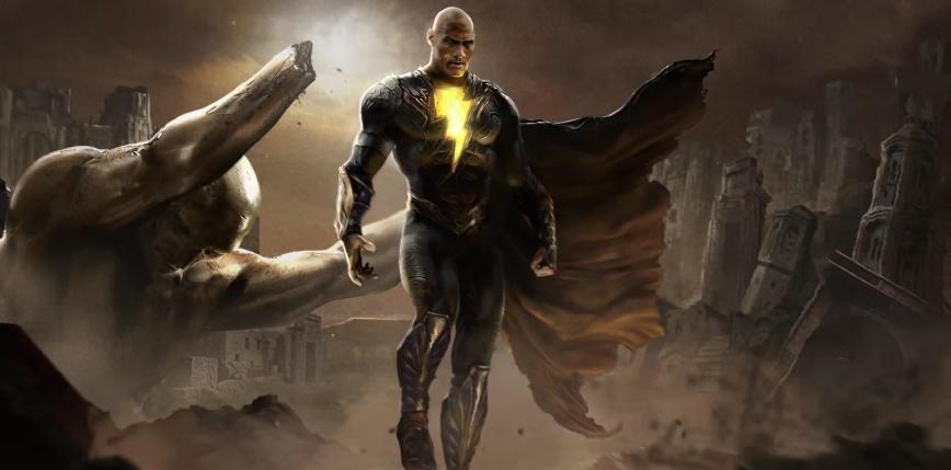 Dwayne Johnson jako Black Adam na nowym zdjęciu z planu