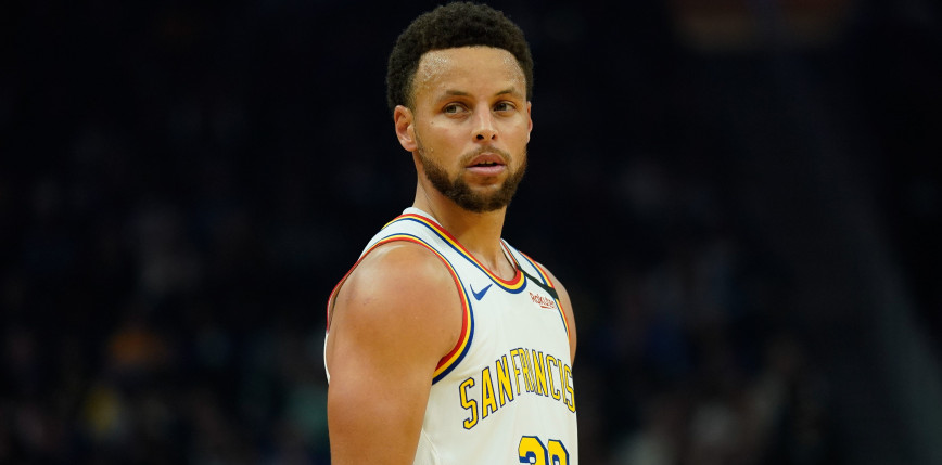 NBA: dziewięć trójek Curry'ego przeciwko Clippers