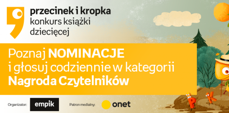 """Nominowani w konkursie """"Przecinek i Kropka"""""""