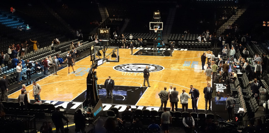 NBA: Brooklyn Nets pokonali Boston Celtics, 40 punktów Irvinga