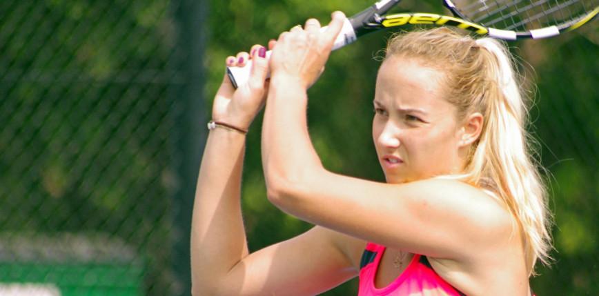 Tenis - WTA Bad Homburg: Kania-Chodun odpadła w ćwierćfinale debla