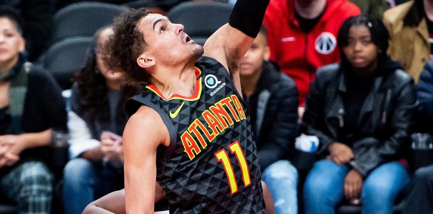 NBA: Hawks pokonali Bucks, 48 punktów Younga