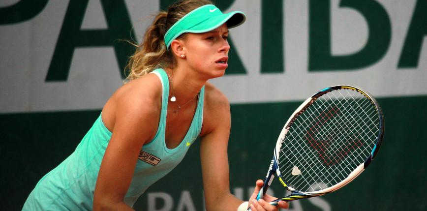 Tenis - WTA Cleveland: finał nie dla Linette