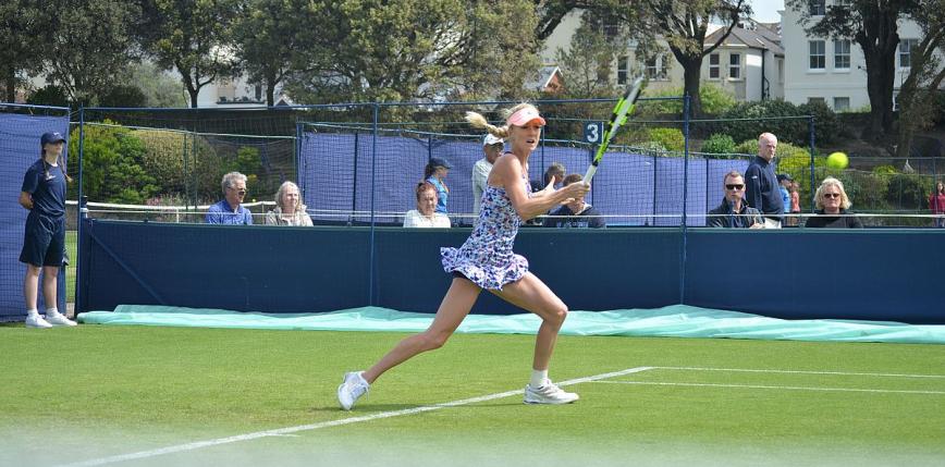 Tenis - WTA Praga: Urszula Radwańska odpadła w pierwszej rundzie