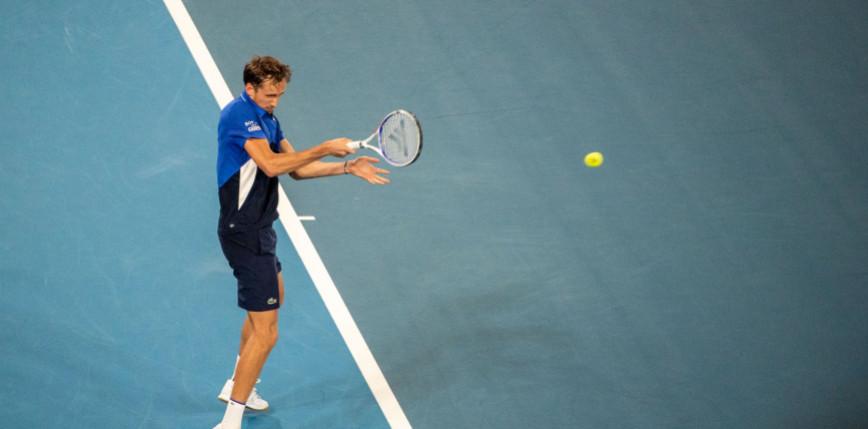 Tenis - US Open: Muguruza odpada, Miedwiediew gra dalej