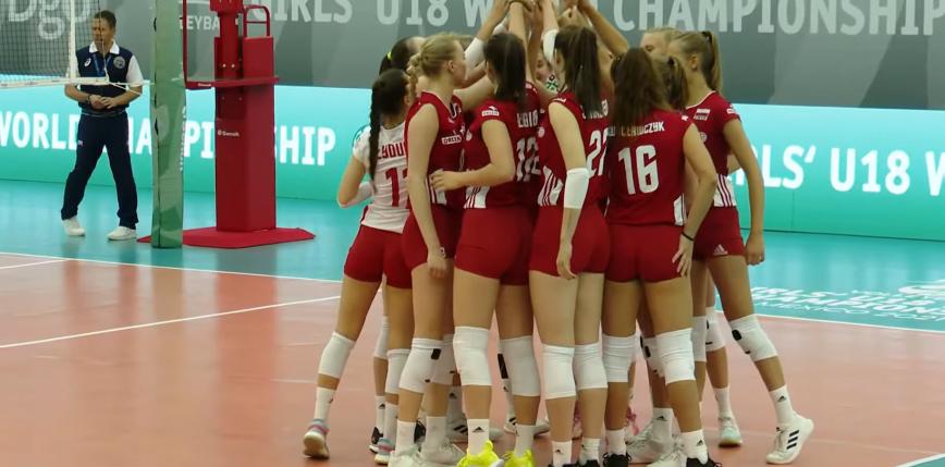 Siatkówka - MŚ U18: przegrana na koniec i ósme miejsce Polek