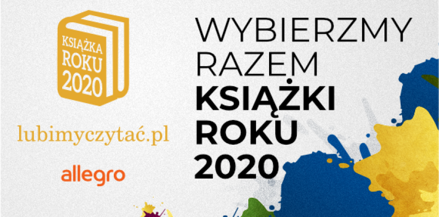 Wystartował plebiscyt Książka Roku 2020!