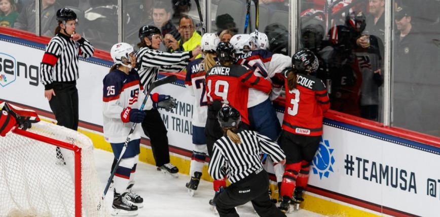 Hokej - MŚ: Kanadyjki z Amerykankami w wielkim finale!