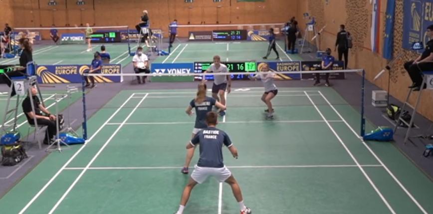 Badminton - ME U17: rewelacyjna passa trwa