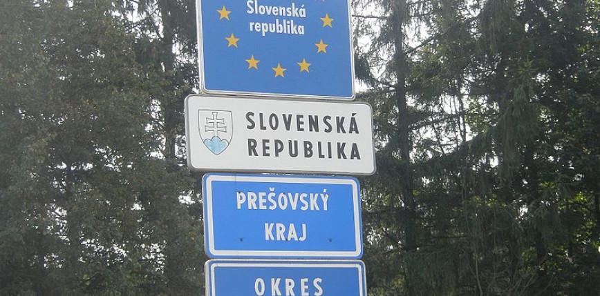 Słowacja wznawia kontrole graniczne