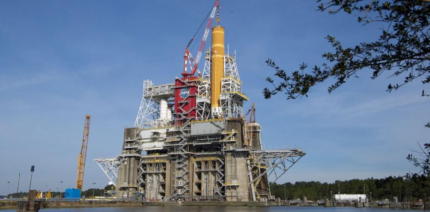 NASA przeprowadziło udaną próbę ogniową rakiety SLS