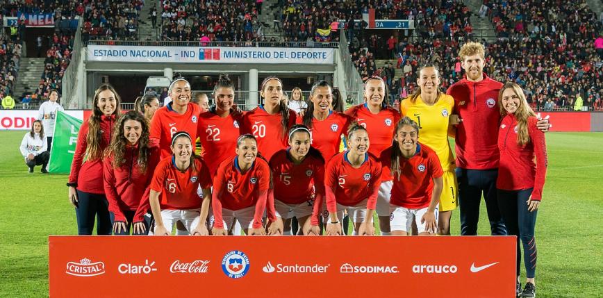 Piłka nożna kobiet: reprezentacje Chile i Chin zagrają na igrzyskach w Tokio