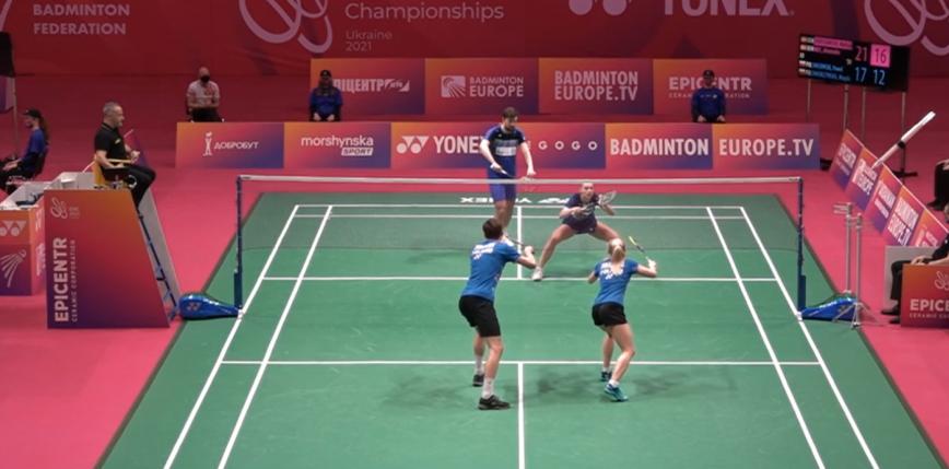 Badminton - ME: ćwierćfinał nie dla miksta