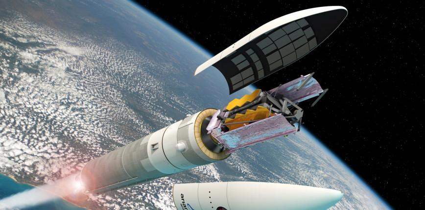 Kosmiczny teleskop Jamesa Webba z kolejnym opóźnieniem. Winna rakieta