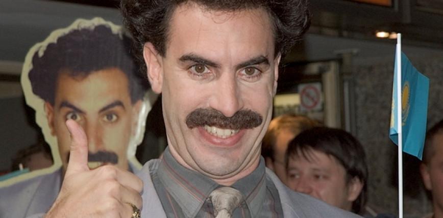 Wizerunek Borata bezprawnie wykorzystany do reklamy marihuany
