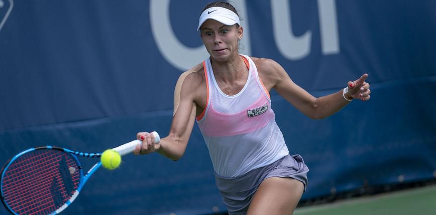 Tenis - US Open: 17-latka za mocna dla Linette